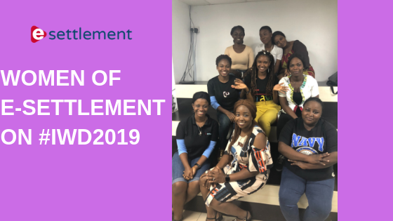 Women of E-Settlement on International Women's Day 2019