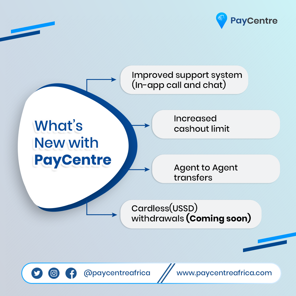 What's new with PayCentre?